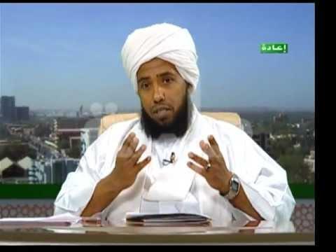 الشيخ عبدالحي في أحد البرامج التلفازية